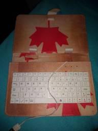 Capa + teclado para tablets