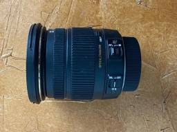 Lente Sigma 17-50 2.8 Nikon
