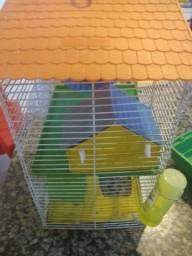 Gaiola completa de hamsters