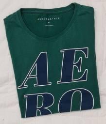 camiseta aeropostale verde