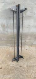 Vendo rack teto suporte de escada para carro