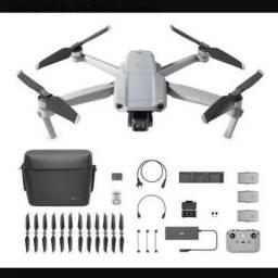 Drone Profissional DJI Mavic air 2 fly more combo semi-novo topppppzera