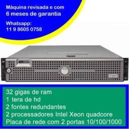 Promoção - Servidor Dell 2950 - 2x Quadcore - 32 GB de ram - HD 1 tera