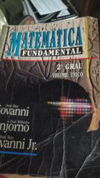 Matematica Fundamental 2 Grau - Volume Unico - Giovanni - Bonjorno - Giovanni Jr