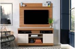 """Conjunto de Rack com Painel Linear para TV até 47"""" na Caixa Lacrado de Fábrica"""