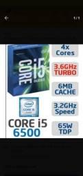 Processador Intel i5-6500 Skylake, Cache 6MB, 3.2GHZ (3.6Ghz Max Turbo), LGA 1151,