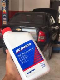 Troca de óleo automotiva