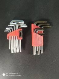 Jogo de chaves Allen e Torx multímetro Minipa