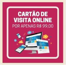 Sites, cartão de visitas virtual, menu e cardápio online, cadastro em buscadores