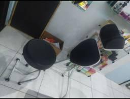 Cadeira apropriada para sobrancelhas