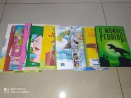 Livros Paradidáticos R$ 15,00 a unidade.
