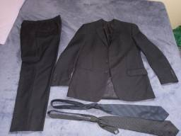 Conj.Terno/calça/2 gravatas