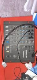 Mesa de som 6 canais Wattsom