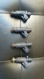 4 bicos injetores flex Renault