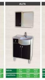 Balcão de banheiro novo
