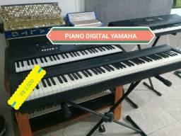 PIANO DIGITAL YAMAHA MUITO TOP P 95 SUPER NOVO E POUCO USADO POR APENAS ....