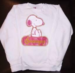 Moletom e vestido Snoopy original usados