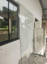 Porta de correr vidro de 10 mm promoção leia o anúncio