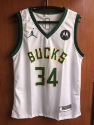 Título do anúncio:  Regata NBA Milwaukee Bucks