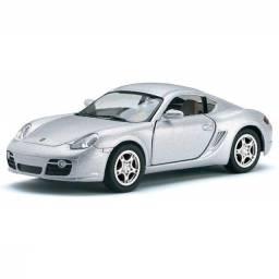 Miniatura de Ferro Porsche Cayman S 12cm 1:34