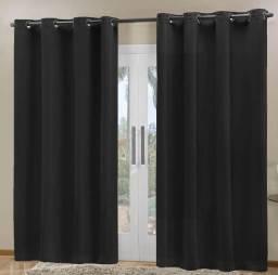 Cortina tecido Blackout prime 80% corta luz