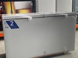 /&) Freezer horizontal com 2 anos de garantia 503 litros