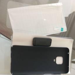 Capa e película de proteção Xiaomi Redmi Note 9S