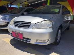Corolla 1.8 XEI-(Ano 2004)-Completo-Flex com GNV. Entrada de 5 Mil + (48X de R$ 509,75)