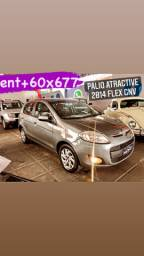 Fiat Palio Atractive 2014 Comp+Gás #uber