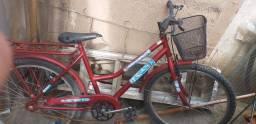 bicicleta infantil uma aro 16 outra aro 24