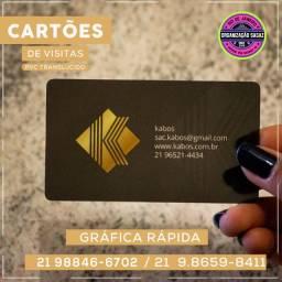 Cartão de Visitas em PVC