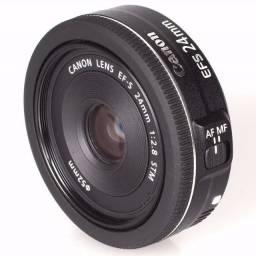 Lente fixa 24mm Canon