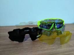 Óculos Ciclismo 5 lentes