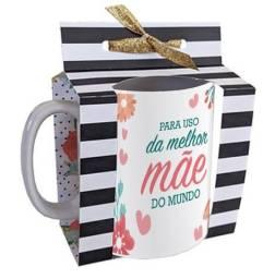 Presente Dia Das Mães, Caneca com Porta Canecas!!!!