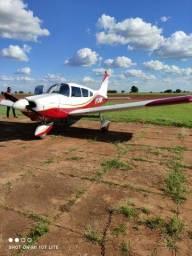 vendo avião Cherokee PA-28-180 ano 1971 4 lugares