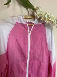 Jaqueta corta vento feminina