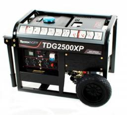 Gerador Diesel Toyama<br>TDG2500XP Monofásico 60Hz Partida Manual com Capacitador 115/230pm<br><br>