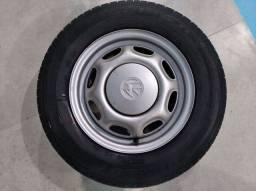 VENDO 4 rodas ARO 13, com pneus semi novos. Furacão 4x100