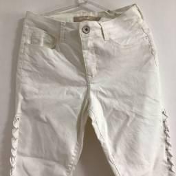 Calça branca lezalez original tamanho 40