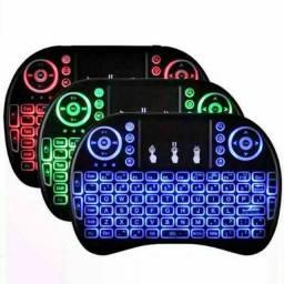 Mini teclado com led
