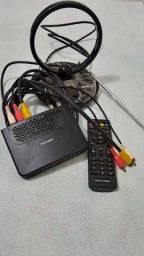 Título do anúncio: Vende-se Antena , conversor e controle