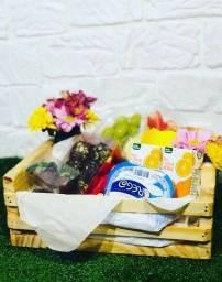 Cestas e presentes para o dia das mães
