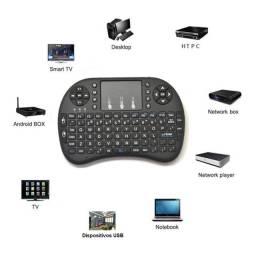 Mini Teclado sem Fio Wireless com Funcao Touchpad <br>
