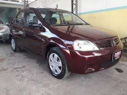 RENAULT LOGAN 2008/2009 1.6 EXPRESSION 16V FLEX 4P MANUAL - 2009