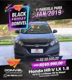 Honda HR-V LX 1.8 Manual - 2016