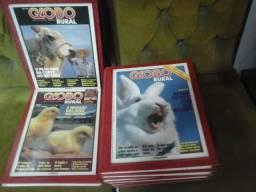 Primeiros números de Globo Rural para colecionadores