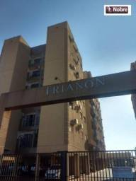 Apartamento com 2 dormitórios para alugar, 69 m² por r$ 790,00/mês - plano diretor norte -