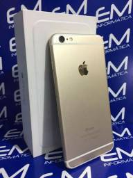 IPhone 6 Plus 16Gb Gold S/Bio - Seminovo - com nota e garantia, somos loja fisica