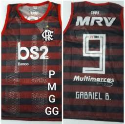 CAMISA REGATA DO FLAMENGO! (P, M, G e GG)
