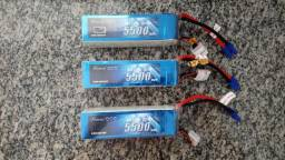 Bateria lipo 6s 60c 5500